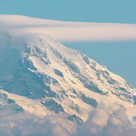 Mount Rainier from Seattle by Marv Vandehey