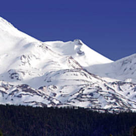 Mount Shasta Panorama by Douglas Taylor