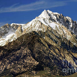 Mount Williamson In Morning Light by Douglas Taylor