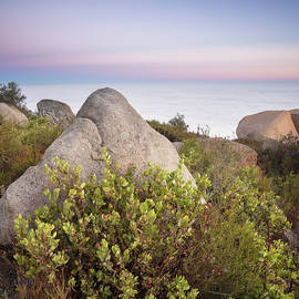 Mount Woodson Above the Clouds Sept by William Dunigan