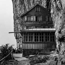 Mountain inn Aescher-Wildkirchli by Andreas Levi