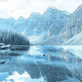 Mountain Lake by Alex Mir