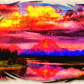 Mountain Nature Scape by Mario Carini