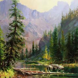 Mountain Refuge by Steve Henderson