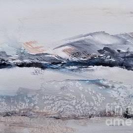Mountain Snow by Yuson Yi