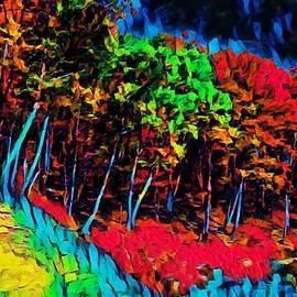 Mountain Trees  by Ally White