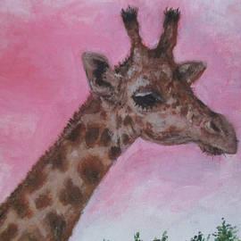 Mr. Giraffe  by Jen Shearer