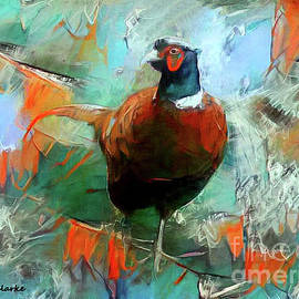 Mr. Ring-Necked Pheasant by Bunny Clarke