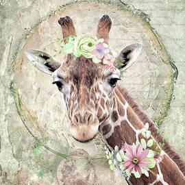 Ms. Giraffe by Anita Hubbard
