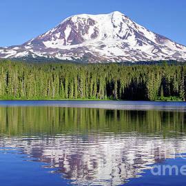 Mt. Adams From Lake Taklakh by Douglas Taylor