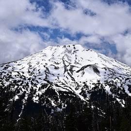 Mt. Bachelor Close Up by Dana Hardy