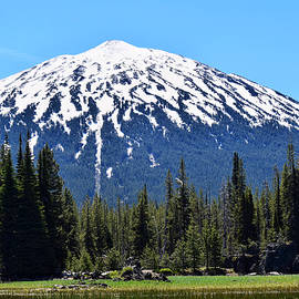 Mt. Bachelor From Sparks Lake by Dana Hardy
