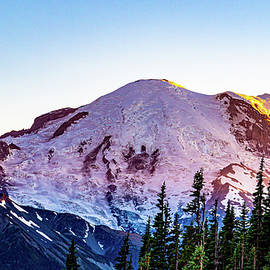 Mt. Rainier at Sunset by Andrew Cottrill