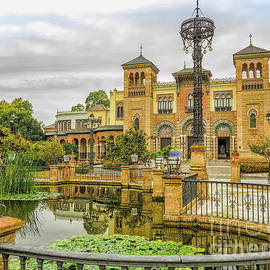 Mudejar Museum in  Seville by Patricia Hofmeester