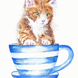 Storm in a teacup by Debra Hall