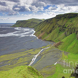 Mulakvisl River in Myrdalssandur, Iceland by Arterra Picture Library
