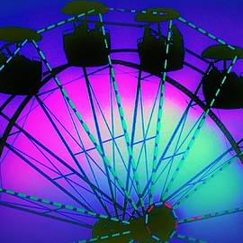 Multicolored Ferris Wheel by Elizabeth Pennington