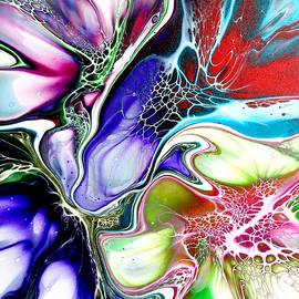 Multiple Flower Pour 16 by Elvira De Vries