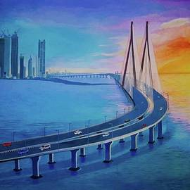 Mumbai Sea Link by Shreyas Makwana