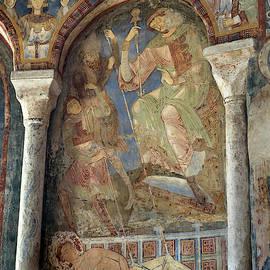 Mural Paintings in the Cluniac Chapel of Berze-la-Ville #4 by RicardMN Photography