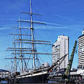 Museumshafen in Bremerhaven by Peter-Michael von der Goltz