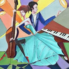 Music world  by Lana Sylber