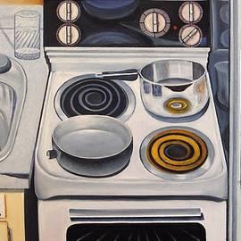 My Apartment Kitchen by Sheldon Goldman