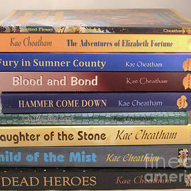 My Book Stack by Kae Cheatham