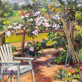 My Garden Corner by Dominique Amendola