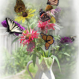 My Garden Flowers and Butterflies by Barbara McMahon