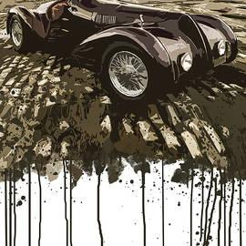 My Good Friend's Alfa Romeo by Boghrat Sadeghan