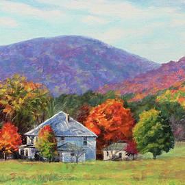 My Happy Place - Farm in the Blue Ridge Mountains by Bonnie Mason