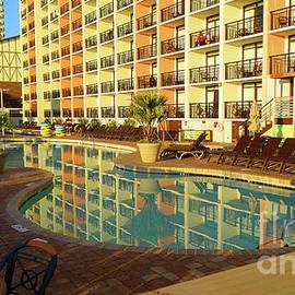 Myrtle Beach SC. Resort by Eunice Warfel