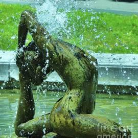 Naiad Fountain, East Mount Vernon Place, Baltimore by Marcus Dagan