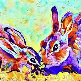 Namaste Bunnies by Beverley Harper Tinsley
