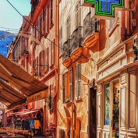 Narrow busy street n Monaco by Tatiana Travelways