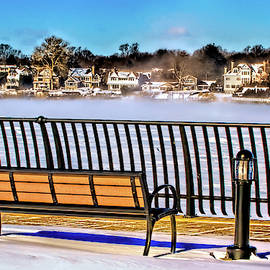 Nassau River in Red Bank, New Jersey by Geraldine Scull