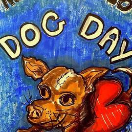 National Dog Day 2020 by Geraldine Myszenski