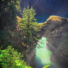 Natural Bridge Oregon by Michele Hancock