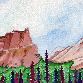 The Grand Castle Mountain by Earl Rina