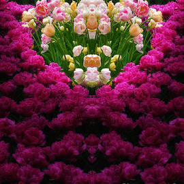 Nature-in-Abstract Tulip Heaven by Mike Nellums