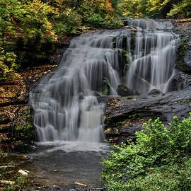 Nature's Boast, Bald River Falls by Marcy Wielfaert
