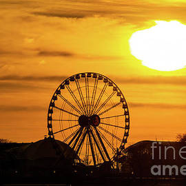 Navy Pier Sunrise by DRD Images