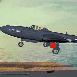 Navy's First Phantom - Art by Tommy Anderson
