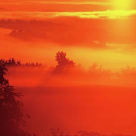 Nebula Is Latin For Fog.  Albemarle County, Virginia by Bijan Pirnia