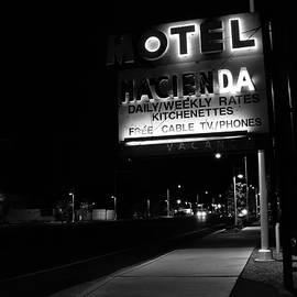 Neon Nostalgia - Hacienda Motel by Matt Richardson