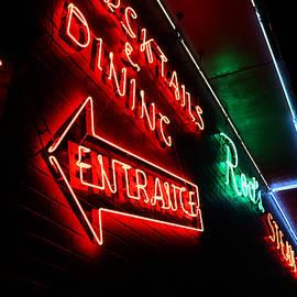 Neon Nostalgia - Rod's Steak House - Route 66 by Matt Richardson