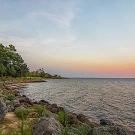 Neuse River Sunset - Oriental North Carolina by Bob Decker