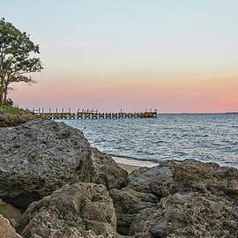 Neuse River Sunset - Pamlico County North Carolina by Bob Decker