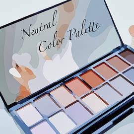 Neutral Eyeshadow Palette by Susan Maxwell Schmidt